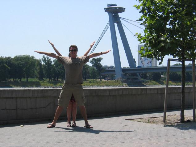Nový Most Bridge, Bratislava, Slovakia