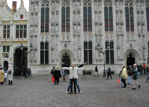 Brugge City Hall, Brugge, Belgium