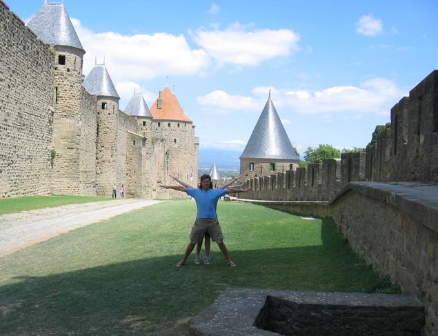 Carcassonne City Walls, Carcassonne, France