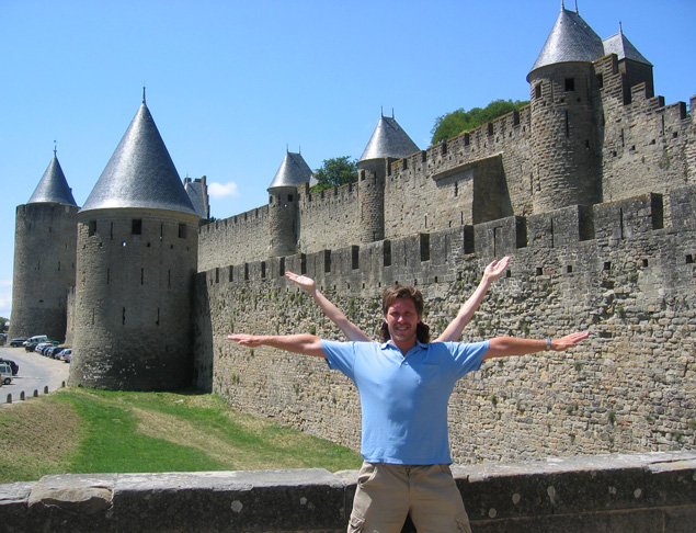 Carcassonne, Outer Walls, Carcassonne, France
