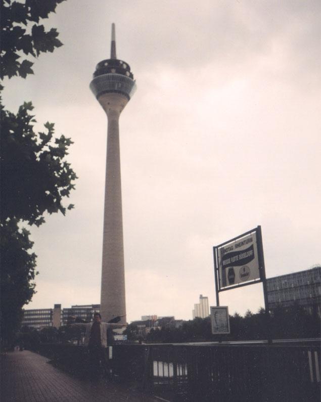 Rhine Tower, Düsseldorf, Germany