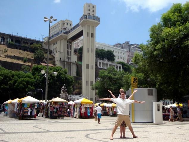 Elevador Lacerda, Salvador, Brazil