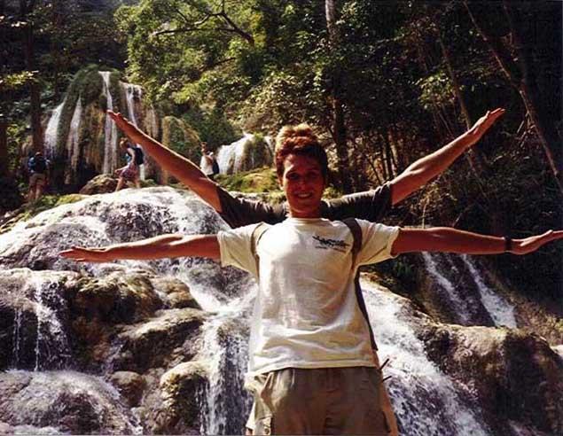 Erawan Falls, 7th step, Erawan National Park, Thailand