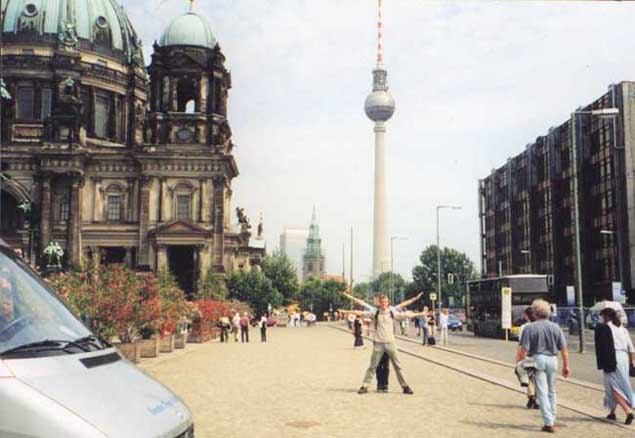 Fernhsehturm, Berlin, Germany
