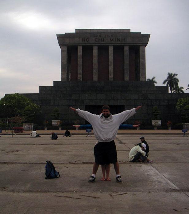 Ho-Chi Minh Mausoleum, Hanoi, Vietnam