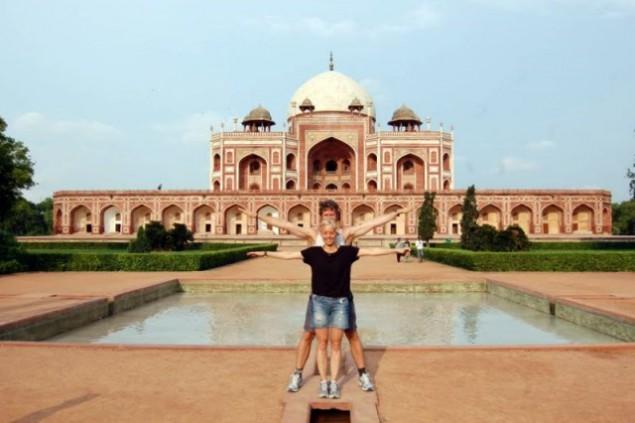 Humayun's Tomb, Nizamuddin East, New Delhi, India