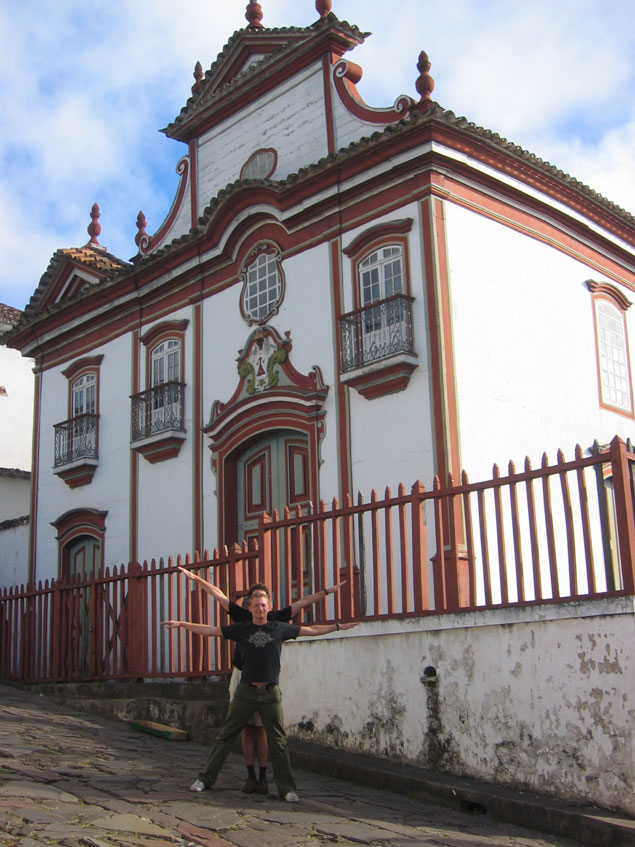 Igreja Nossa Senhora do Carmo, Diamantina, Brazil