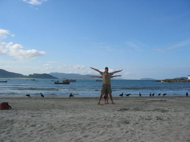 Ilha de Santa Catarina, Praia da Armação, Brazil