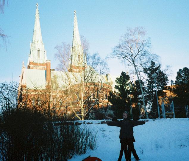 Johanneksenpuisto Church, Helsinki, Finland