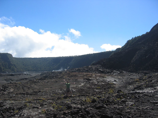 Kilauea Iki Crater, Hawaii, USA