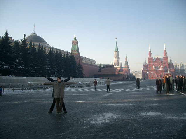 Lenin Mausoleum, Moscow, Russia