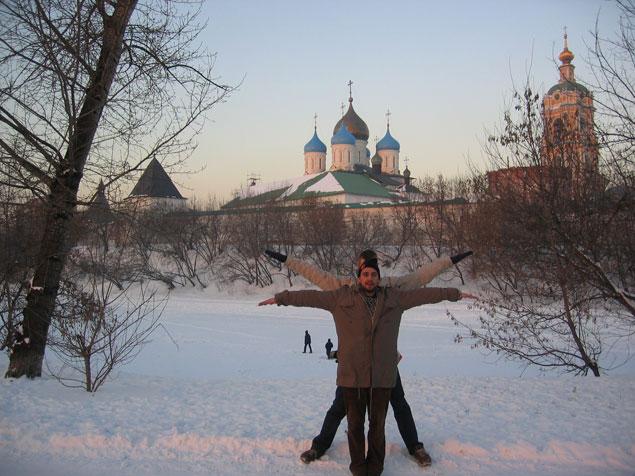 Novospassky Monastery, Moscow, Russia
