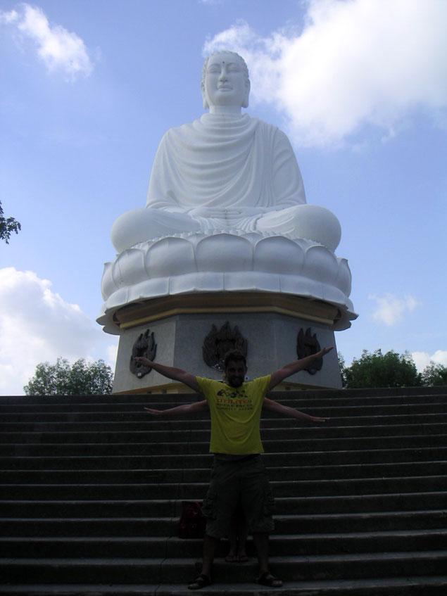 Nha Trang Vietnam. Great Buddha of Nha Trang,