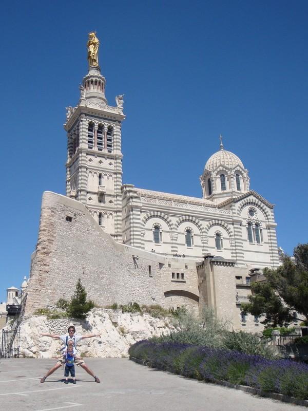 Basilica of Notre-Dame de la Garde, Marseille, France
