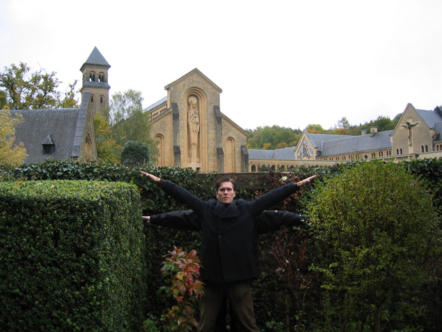 The Monastery of Orval, Orval, Belgium