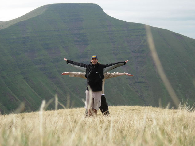 Cribyn Mountain, Brecon Beacons National Park, UK