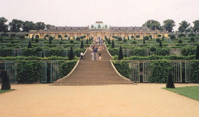 Schloss Sanssouci, Berlin, Germany
