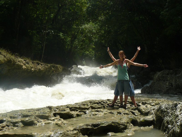 Semuc Champey Waterfall, Semuc Champey, Guatemala