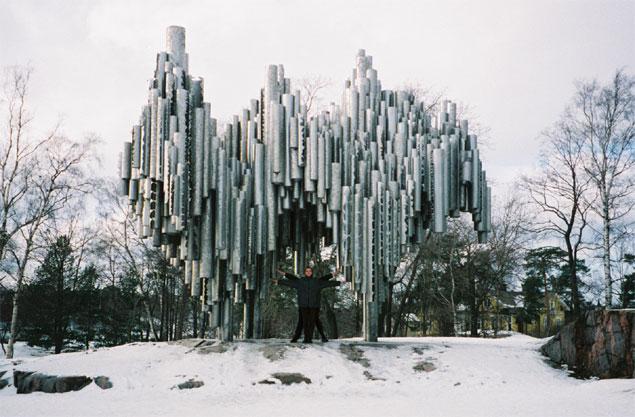 The Sibelius Monument, Helsinki, Finland