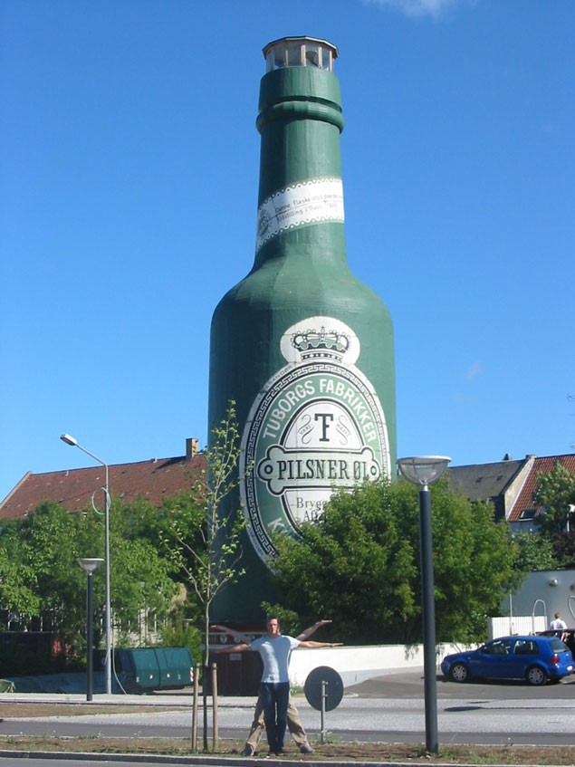 Tuborg Beer Bottle, Copenhagen, Denmark